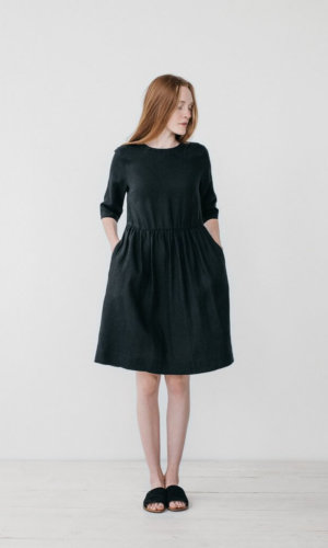 Colette Black Loose Dress