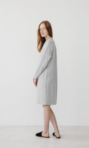 Elsa Grey Oversized dress
