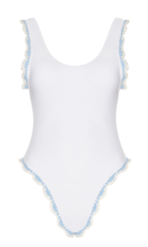 Maiyo Limited Bleu Belle One Piece Swimsuit