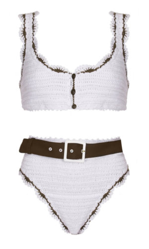 Luna Bikini in White