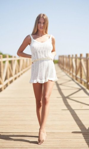 Elysia Crochet Dress