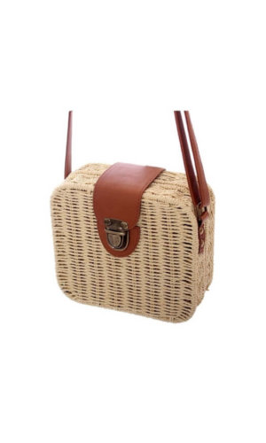 Squared Basket Bag
