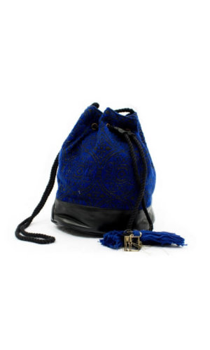 Boho Blue Tribal Bag