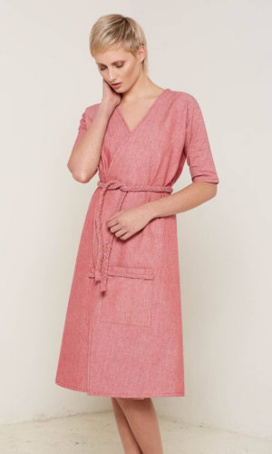 Antonia Wrap Dress