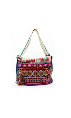 Multicolour Beach Bag