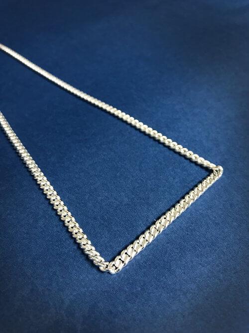 Minimalist Silver Chain Necklace
