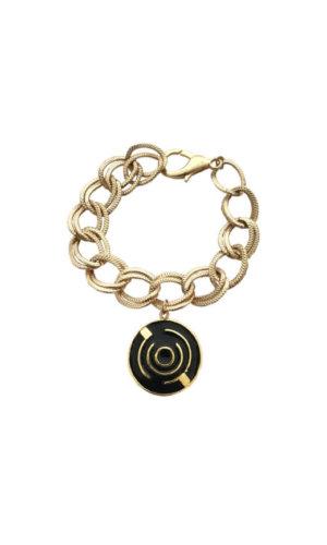 Round Maze Chain Bracelet