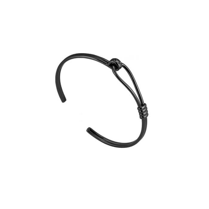 Black Latch Bracelet