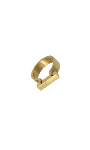 Gold Omega Ring