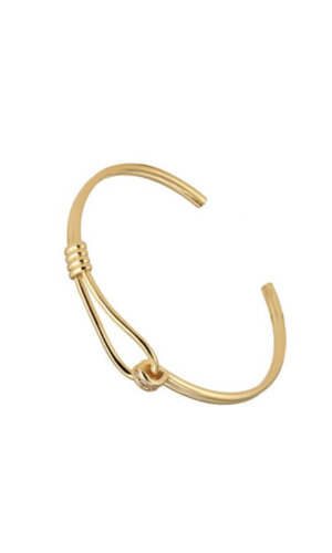 Gold Latch Bracelet