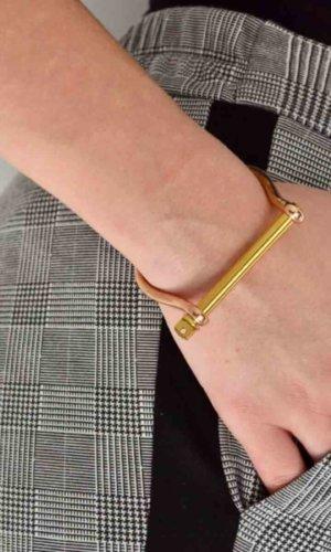 Rosegold Gold XL Screw Cuff