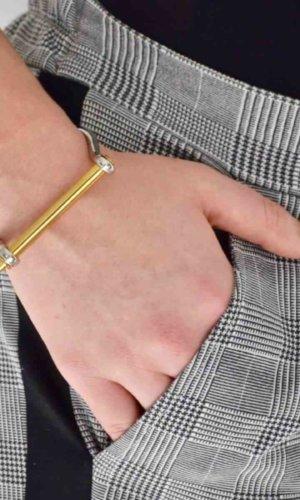 Silver Gold XL Screw Cuff