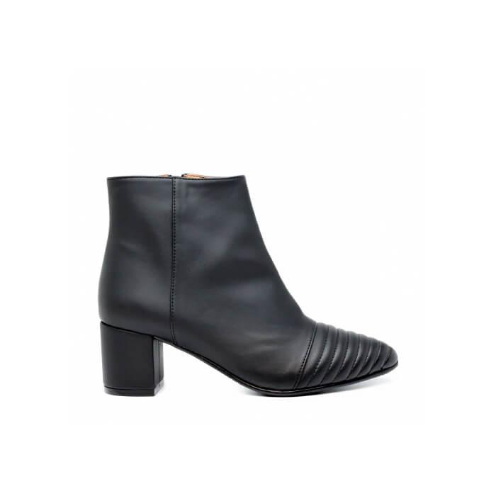 Black Block Heel Boot