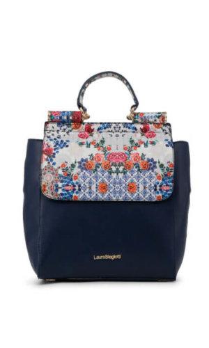 Floral Blue Rucksack