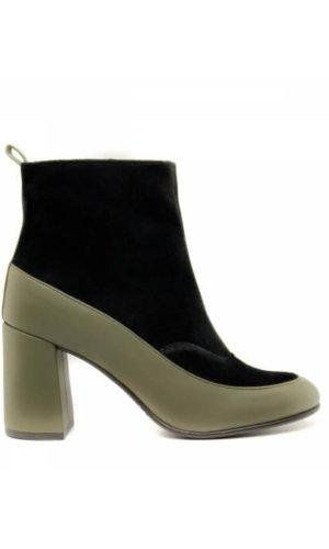 Green Ankle Boot
