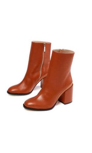 Brick Red Boot