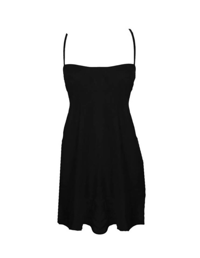 Venice Black Slipdress