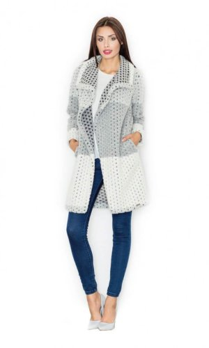 Figl Wool Knit Coat