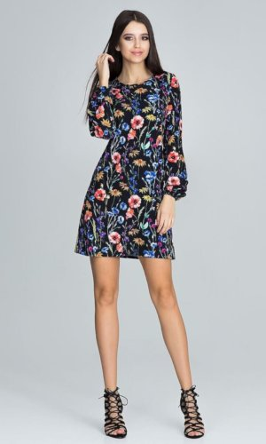 Figl Floral Mini Dress