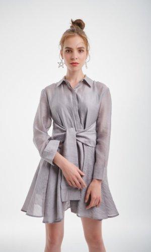 Silver Gray Dress