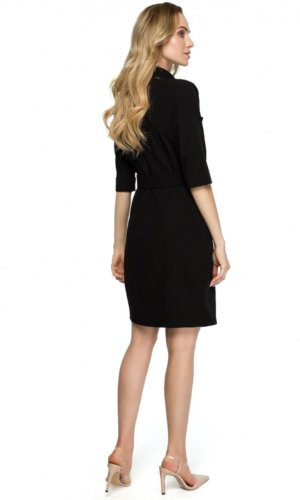 Black Midi Blazer Dress