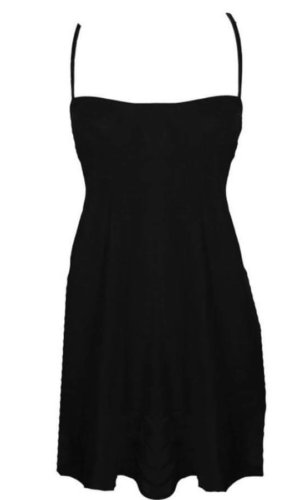 black slipdress