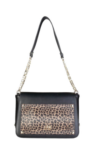 Cavalli Class Leopard Shoulder Bag