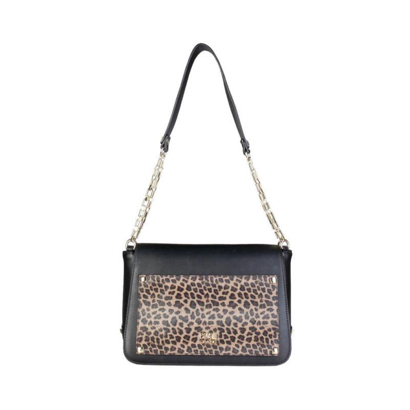 Cavalli Class Leopard Shoulder Bag