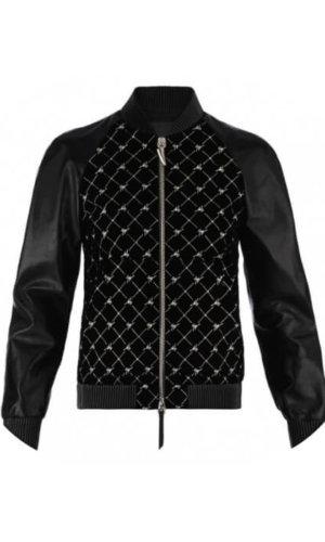 Velvet Leather Jacket