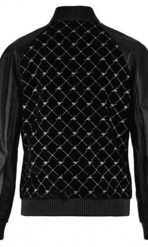 Velvet and Leather Jacket