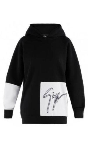 Harper Giuseppe Zanotti Fabric hoodie with signature