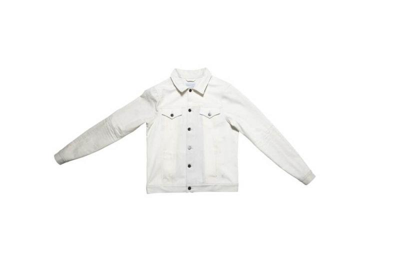 White Deinim Boyfriend Jacket