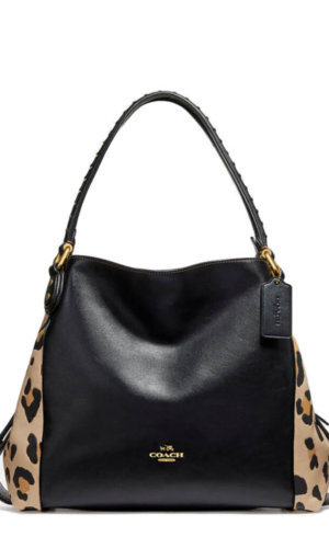 Coach Black Designer Handbag