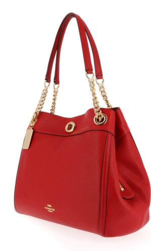 Coach Red Designer Handbag