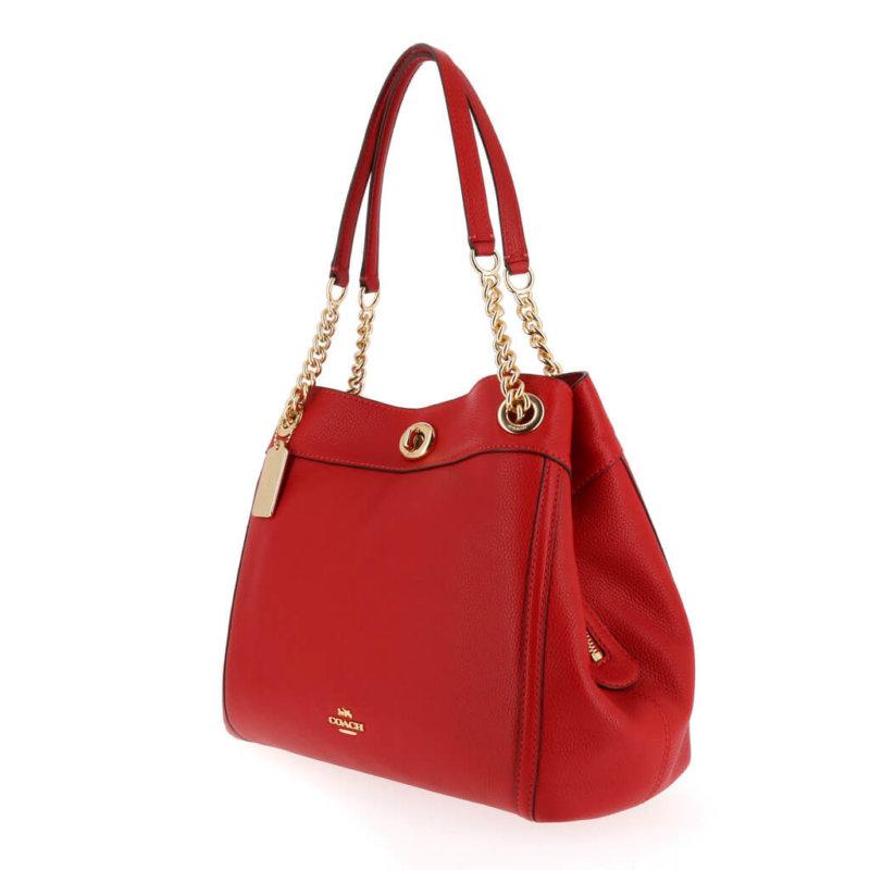 Coach Red Designer Handbag