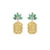 Pineapple Gemstone Earrings