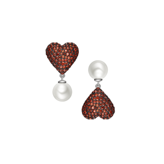 Poker Hearts Earrings