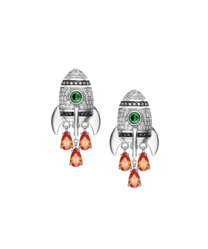 Mini Rocket Earrings