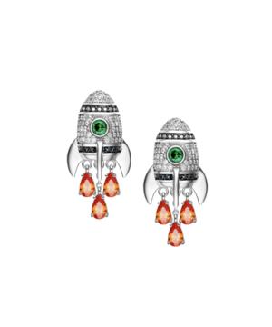 Mini Rocket Earrings