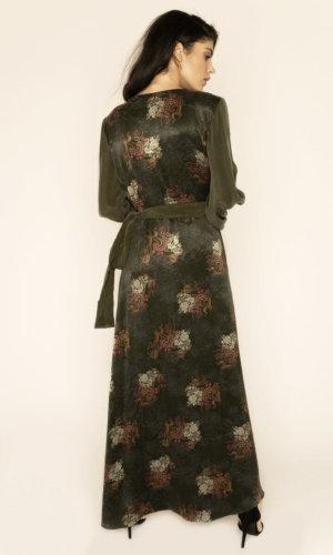 Verdant Jacquard Dress