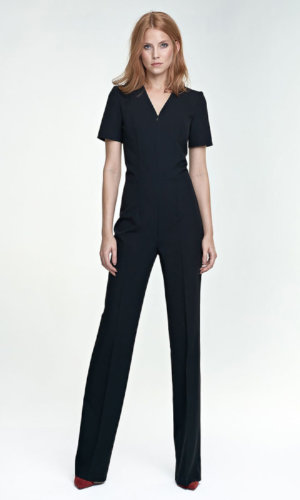 Jumpsuit Short Sleeve Black