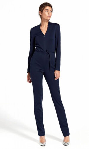 Navy Blue Jumsuit