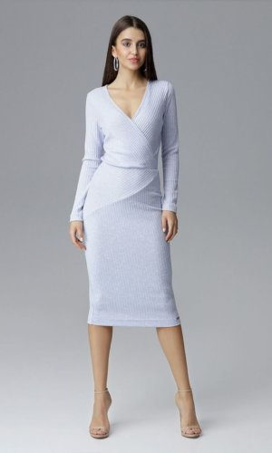 Blue Figl Cocktail Dress