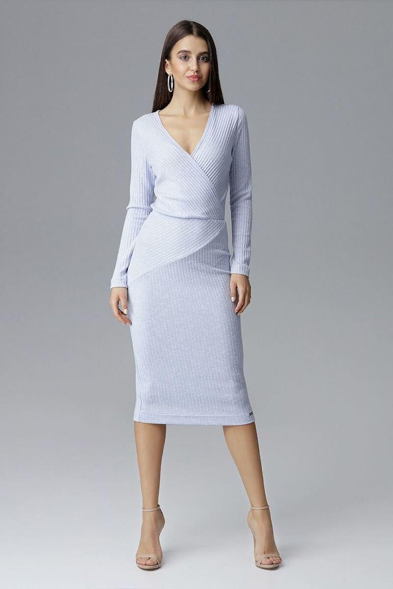 Blue Figl Cocktail Dress