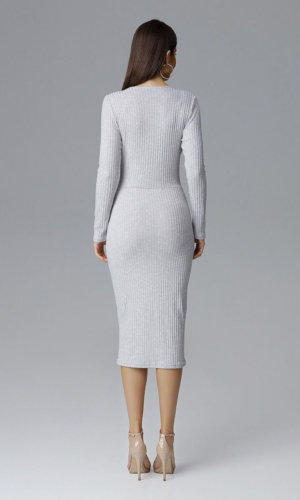 Grey Figl Cocktai Dress