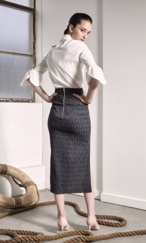 Nara midi skirt