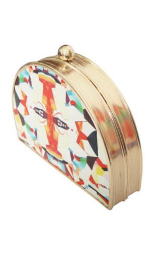 box clutch, independent fashion brands