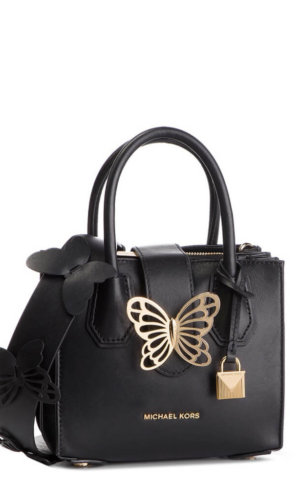 Michael Kors Mercer Butterfly Leather Tote