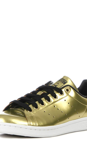 StanSmith Metalic Gold Women Sneakers