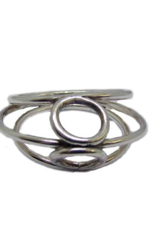 Bound Ring – Sterling Silver